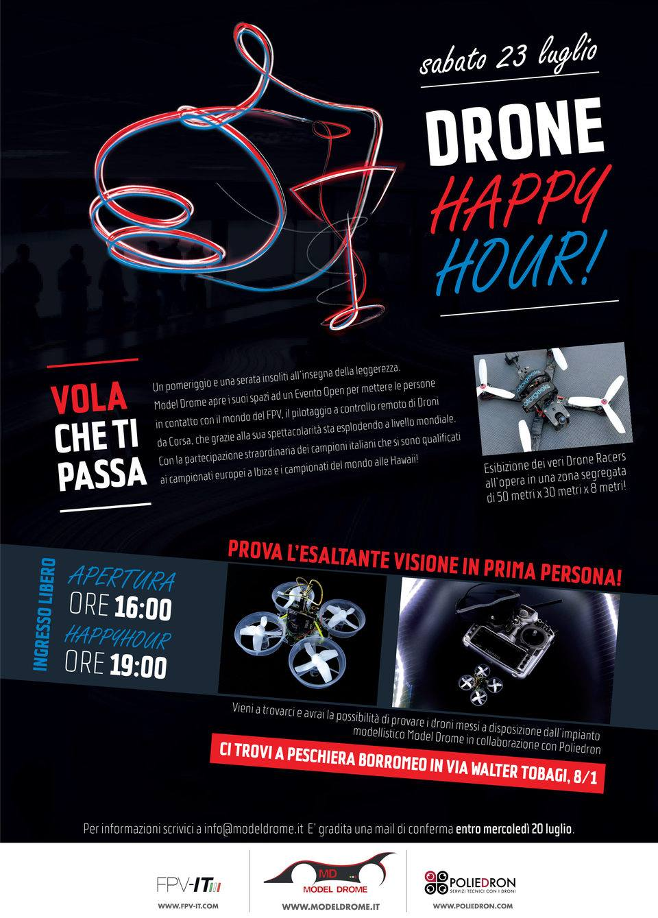 Drone Happy Hour