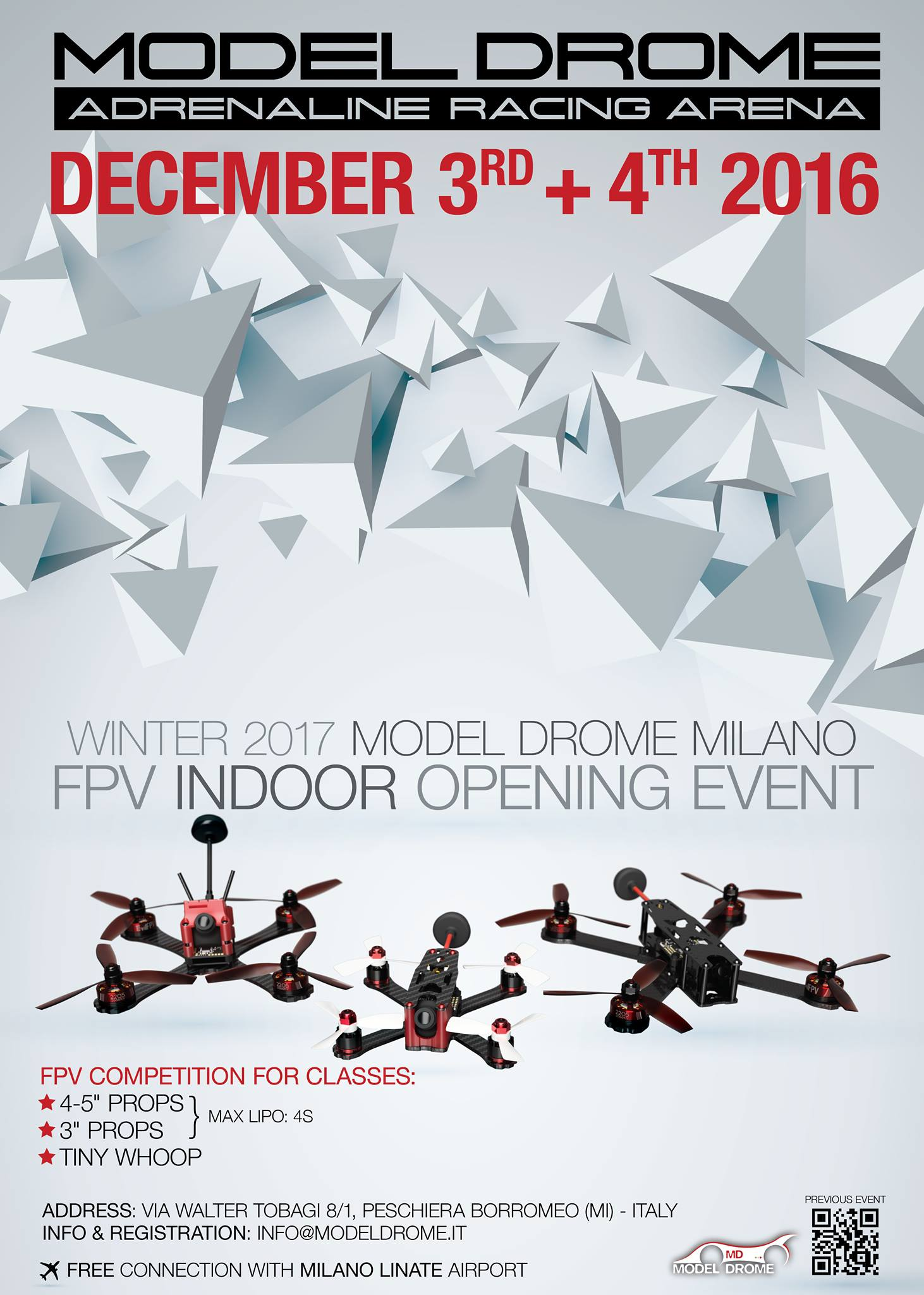 Model Drome Winter 2017 FPV Indoor Opening